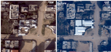 Israel releases images showing airstrike damage to Hamas outposts in Gaza