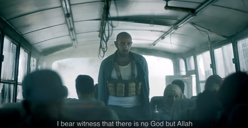Advert with love message for terrorists causes controversy