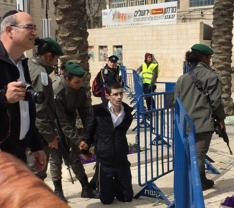 100 Orthodox protesters arrested as 'record' marathon takes place in Jerusalem