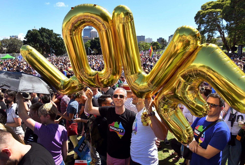 62% d'opinions favorables à une légalisation du mariage homosexuel — Australie