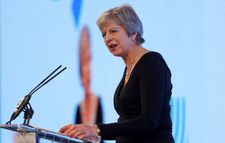 British PM takes aim at Corbyn controversies, says 'no excuse' for anti-Semitism