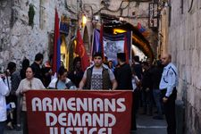 Armenian genocide commemorated in Jerusalem march