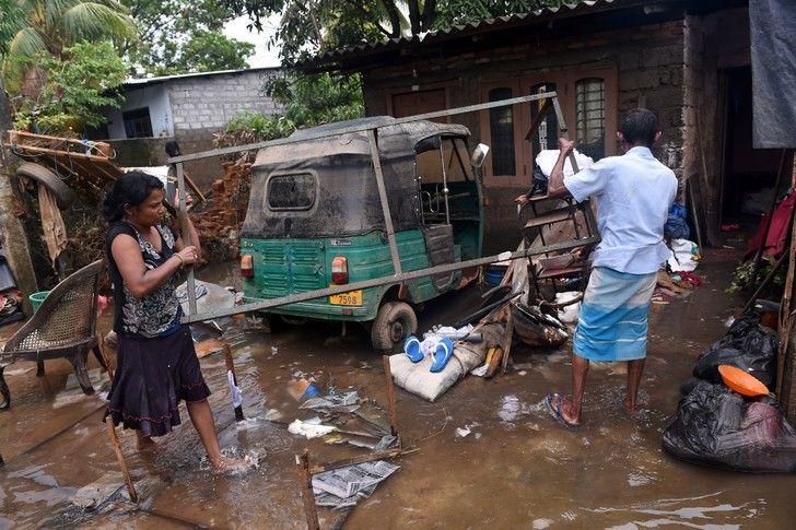 La mousson fait au moins 164 morts, dernier bilan — Sri Lanka