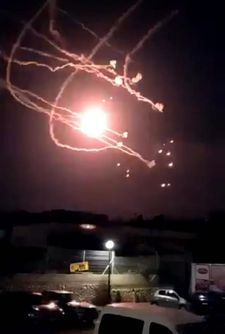 Israel conducts large aerial operation in Gaza after 30 rockets fired at south