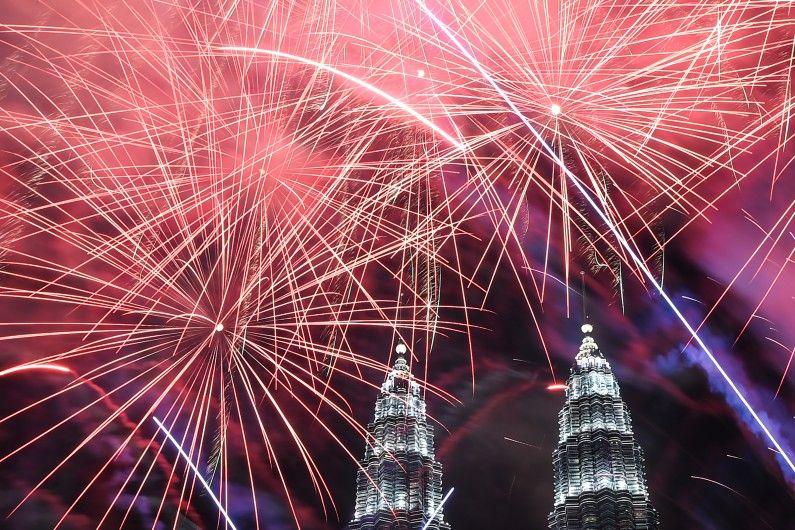 Nouvel an 2017 à Kuala Lumpur, Malaisie