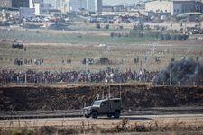 Gaza: plusieurs routes fermées à la frontière suite à des incidents
