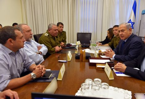 Security cabinet unanimously agree on ceasefire in Gaza