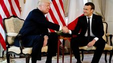 Analysis: Trump and Macron, an improbable duo