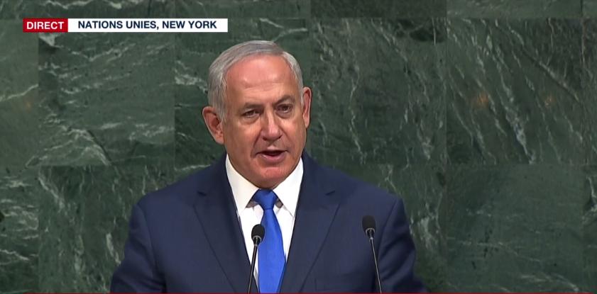 """""""Ceux qui menacent de nous anéantir se mettent en danger"""" (Netanyahou)"""