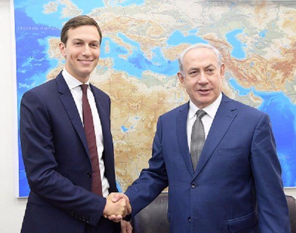 """""""Les relations entre nos pays plus fortes que jamais"""" (Kushner à Netanyahou)"""