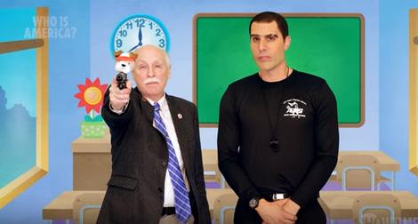 Sacha Baron Cohen gets US Congressmen to endorse 'Israeli' toddler gun program