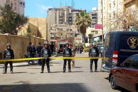 Egypte: explosion d'une voiture piégée à Alexandrie, un policier tué