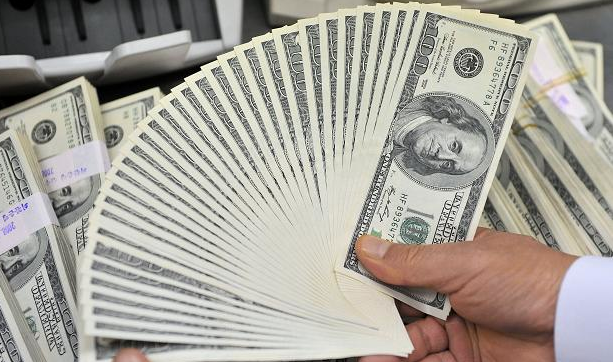 US dollar eases slightly after a week-long surge