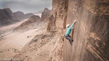 Film follows Israeli climbers, Bedouin guide carving soaring route up Wadi Rum
