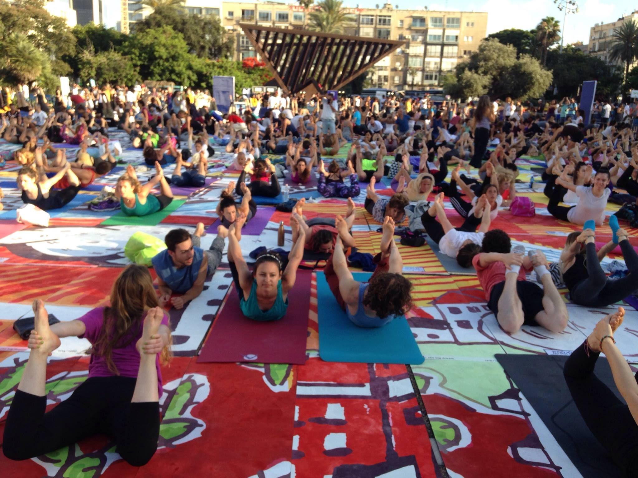 Shalom Salam Namaste: le yoga à l'honneur en Israël et dans le monde arabe