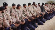Extrait de la vidéo diffusée dimanche par l'Etat islamique.