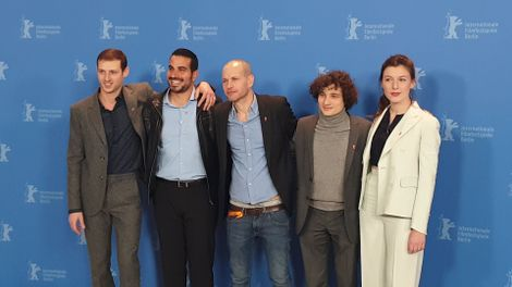 """Synonyms,"" directed by Nadav Lapid, premiered Wednesday at Berlin's International Film Festival and is vying for the top prize, the Golden Bear."