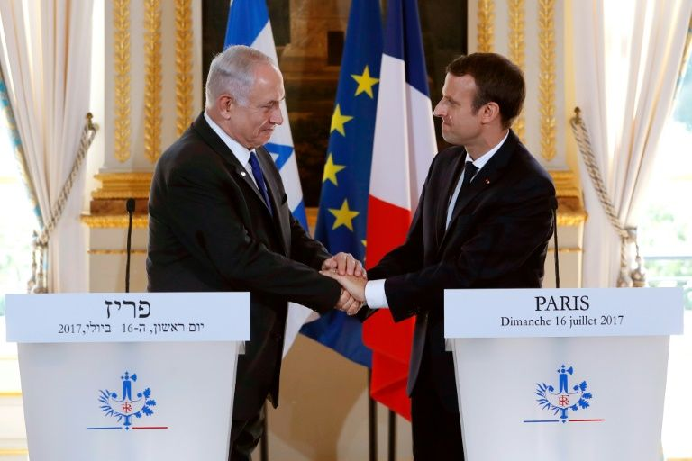 Israël: Macron appelle Netanyahu à