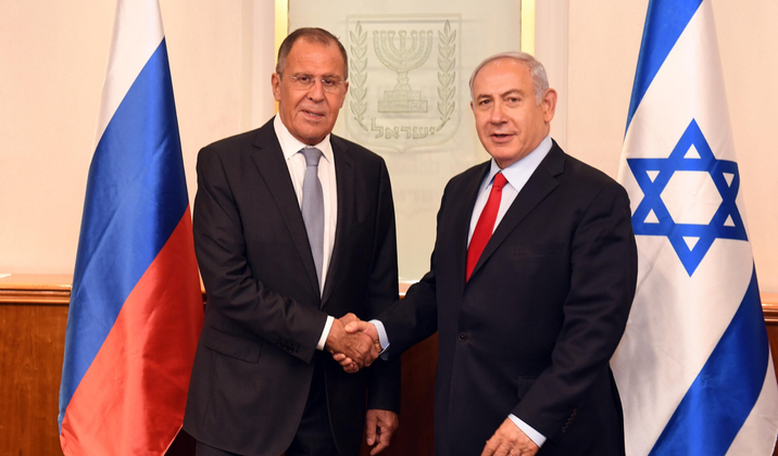 Lavrov: We expect continued military cooperation with Israel on Syria