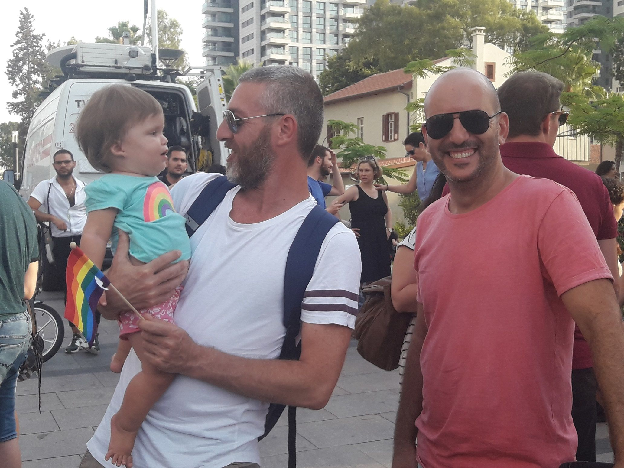 Thousands demand gay adoption rights in mass Tel Aviv protest