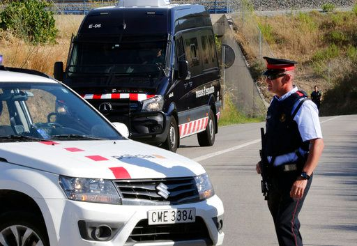 Catalan police shoot and kill driver in Barcelona terror attack