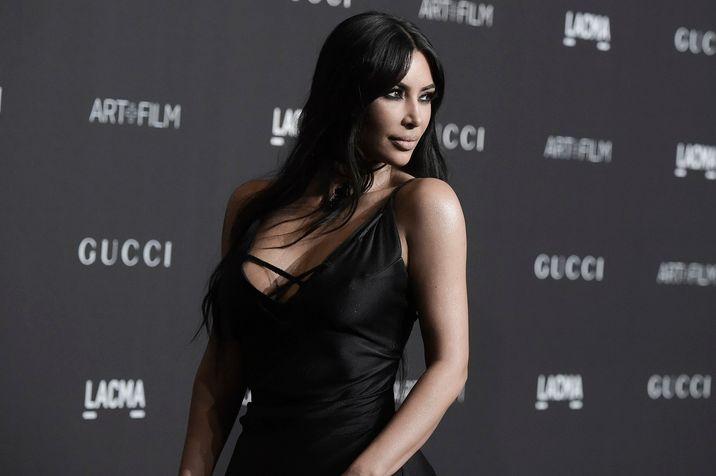 567dbe0e5710f Kim Kardashian attends the 2018 LACMA Art+Film Gala at Los Angeles County  Museum of Art on Saturday