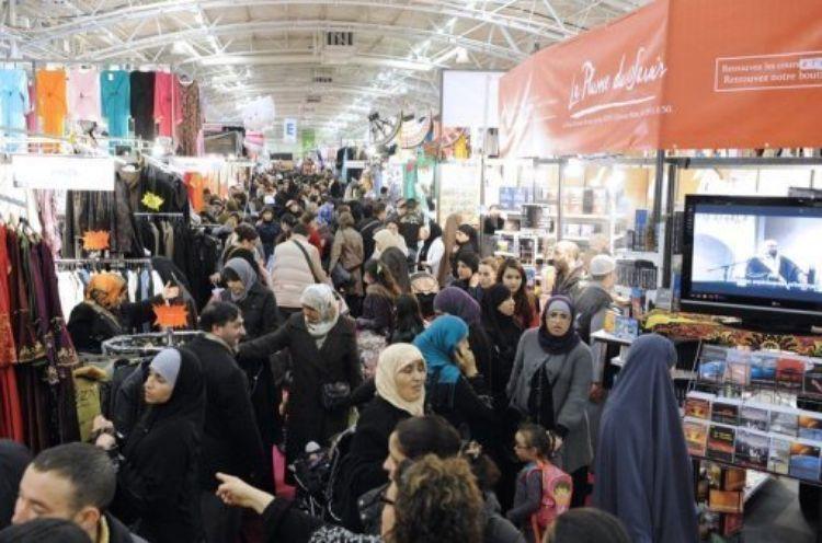 I24news ouverture du salon annuel du mouvement musulmans for Salon du bourget islam