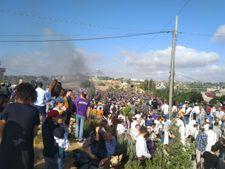 Netiv Ha'avot: des milliers de protestataires rassemblés contre la démolition