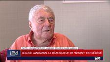"""Décès de Claude Lanzmann: """"son oeuvre est immortelle"""" (épouse à i24NEWS)"""
