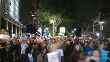 Over ten thousand protest government corruption in Tel Aviv