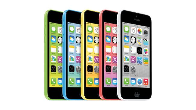 iPhone 5C et 5S - 2013