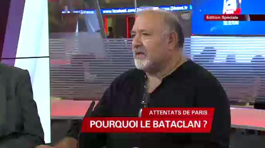 Joël Touitou, l'ancien propriétaire de la salle du Bataclan à Paris