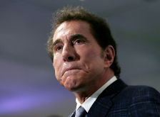 FILE - This March 15, 2016, file photo, shows casino mogul Steve Wynn at a news conference in Medford, Mass. Wynn Resorts is denying multiple allegations of sexual harassment and assault by its founder Steve Wynn, describing it as a smear campaign related