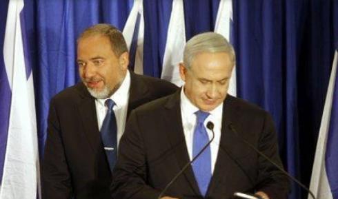 Avigdor Lieberman et Benyamin Netanyahou