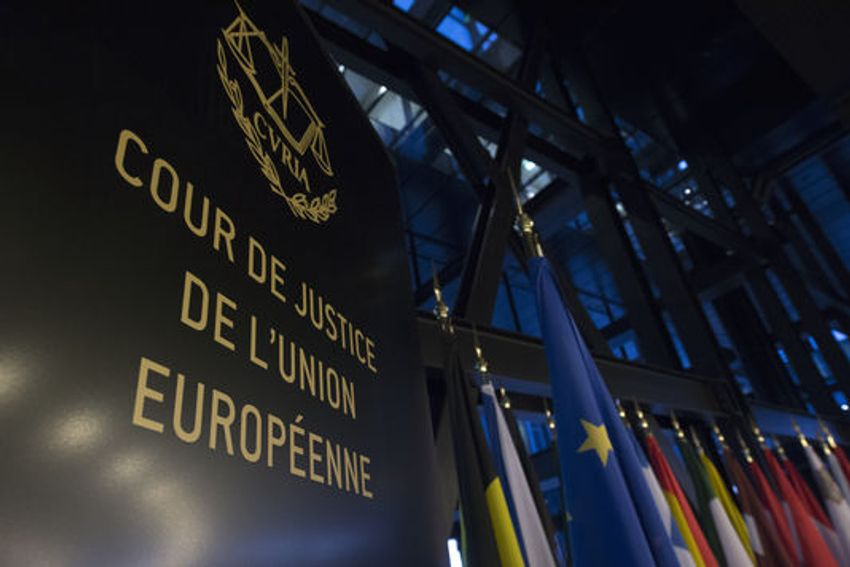 Vue de la Cour de justice de l'Union européenne à Luxembourg. Vue de la Cour de justice de l'Union européenne à Luxembourg