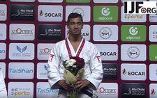 Judo: l'Israélien Tal Flicker remporte la médaille d'or à Abu Dhabi