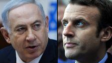 """Macron s'entretient avec Netanyahou, appelle au """"dialogue"""" avec les Palestiniens"""