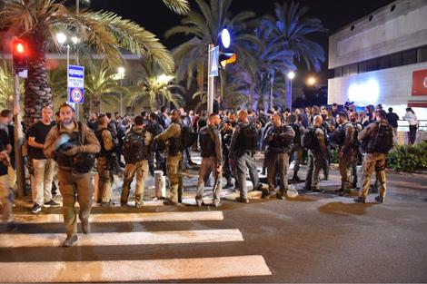 Israël:la police accusée de violences lors d'une manifestation en soutien à Gaza