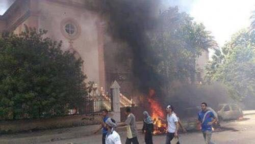 Egypt says it foiled a suicide bombing against a Christian church
