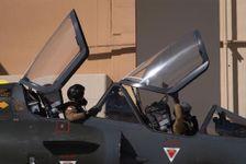 Aerial IAF military drill in Israel