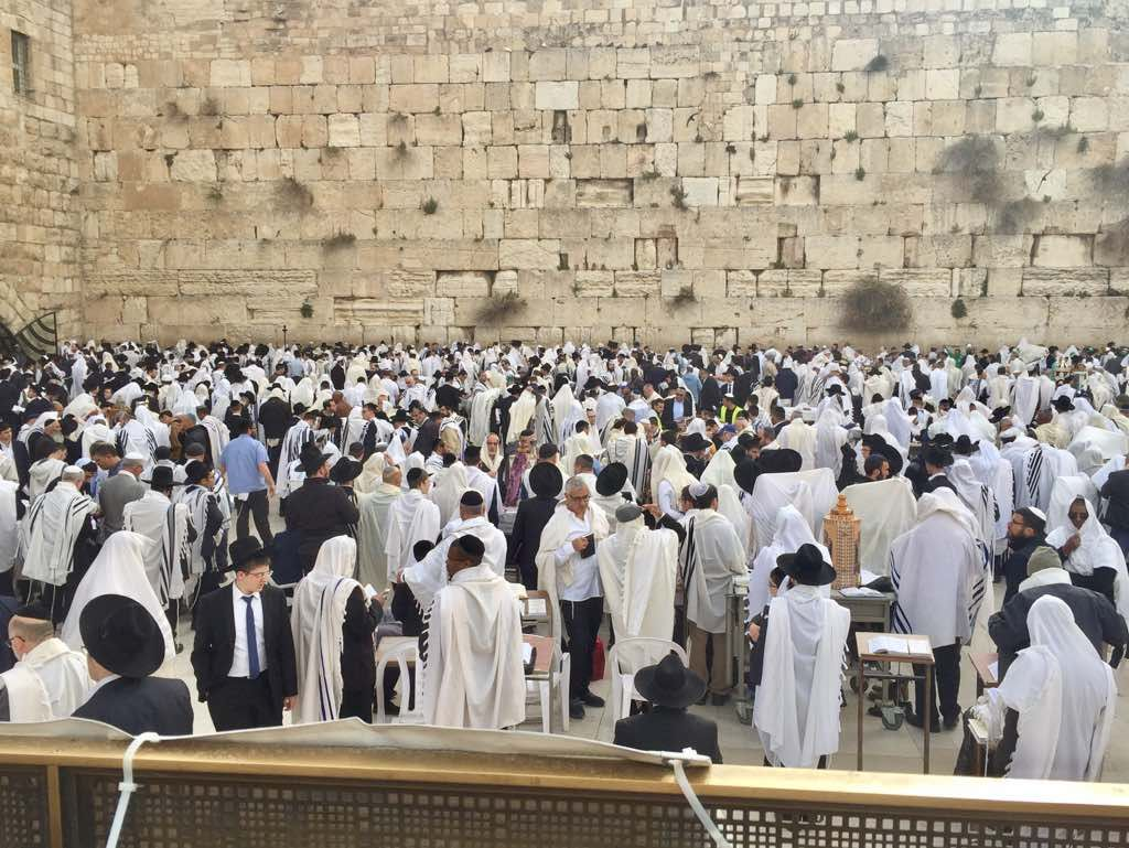 High security in Jerusalem as thousands expected to attend priestly blessing