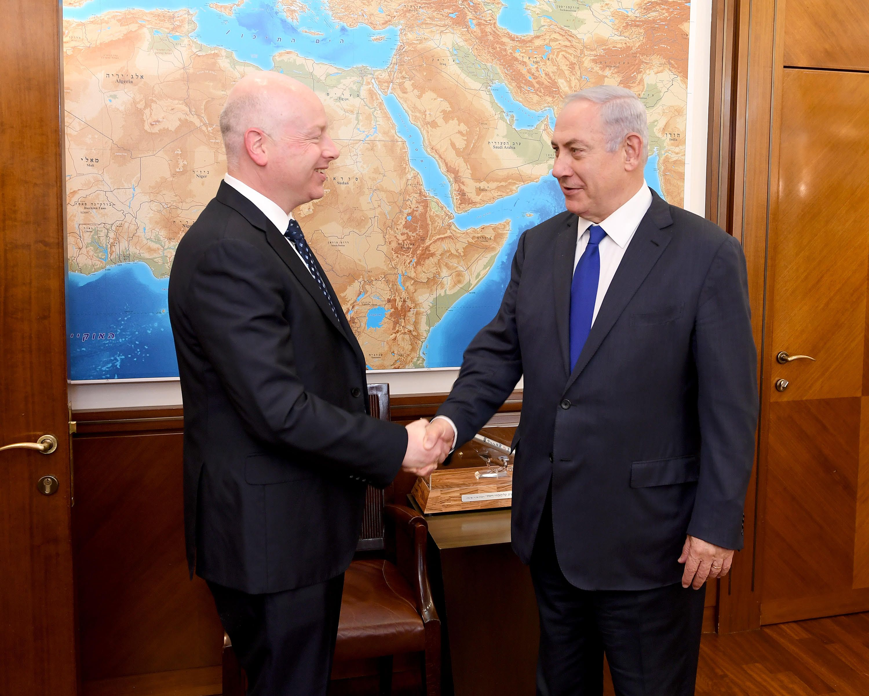 Rencontre Netanyahou/Greenblatt pour faire avancer le processus de paix