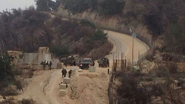Israeli army says individual has crossed border into Lebanon