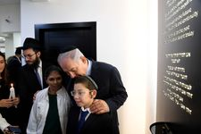 Netanyahu nears of end of India trip with emotional Chabad visit