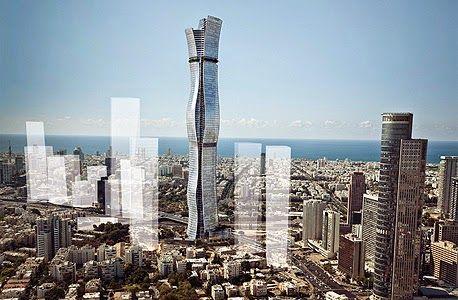 La construction de la plus haute tour d'Israël approuvée