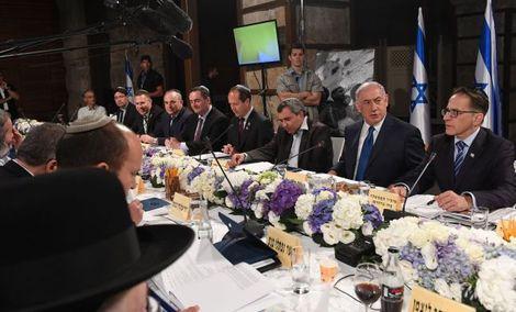 """أجواء """"مشحونة"""" في جلسة """"الكبنيت"""" الإسرائيلي حول غزة"""