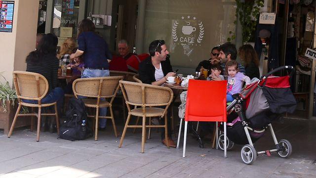 Enjoying a day off in Tel Aviv