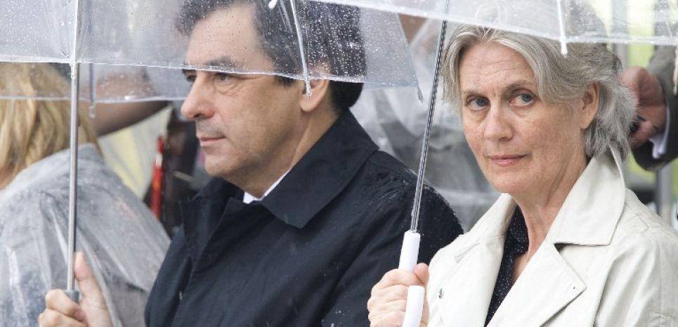 François Fillon et son épouse Pénélope, en juillet 2008.