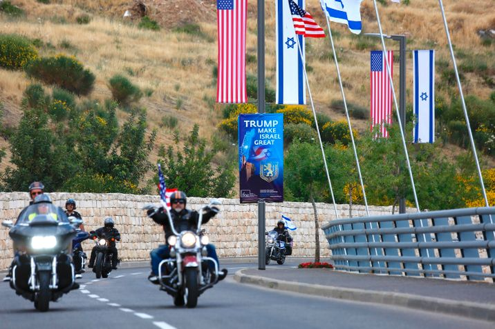 i24NEWS - Palestinians slam 'ideological' US Jerusalem