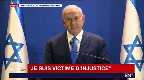 Le Premier ministre israélien Benyamin Netanyahou, le 7 janvier 2019